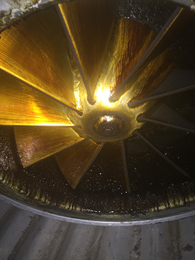 Kitchen exhaust fan repairs